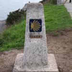 "Kilometer Marker ""O"" on the Camino de Santiago"