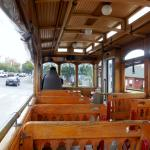 Open trolley for good viewing