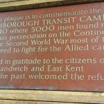 Refugee Plaque