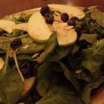 Bibb and Spinach salad