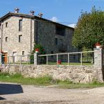 una vista de la casa rural El Ferrés