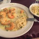 Love, love this place!! My favorite, authentic Italian food and perfect size.  Shrimp pompeii my