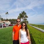 Praia Palm Beach próxima ao Hotel Ramada