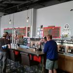 Spacious bar with wide selection of beers, ales, and wine.