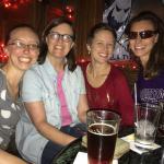 Four Lovely Women I met at the bar