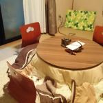 お風呂、客室、夕食