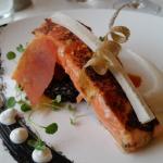 My delicious salmon dish!