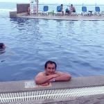 Una de las piscinas en Decameron Mompiche