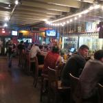 A nice bar area