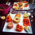 Assiette Autour du Saumon
