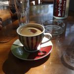 Griechischer Kaffee in schöner Tasse ...