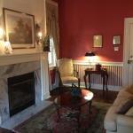 Thomas Bond, Jr. Room - Living Area with Fireplace