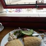 Pannini with a view