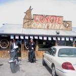 Coyote Cantina entrance, Sept 2010