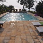 Pool der einen Villa