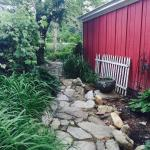 Walkway to Avery's Cottage