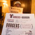 Burgers & Bourbon Dining Customer & Menu