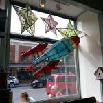 A shot of the Lantern Festival installation in one of their front windows.