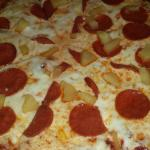 Pepperoni Pineapple Pizza