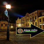 Pizzeria Retro. Wejście do pasażu od ulicy Tumskiej.