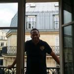 from balcony Agora Saint Germain