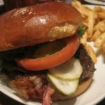 My Steakhouse Burger, upgraded with applewood smoked bacon.
