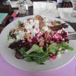 Pear and Roasted Beet Salad