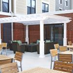 Outdoor patio pergola