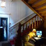 staircase entry foyer