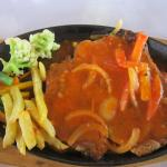 Chicken Chop - too satly