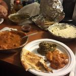 Take out dinner from Sandhar Hut