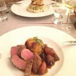 Steak medium well to well done