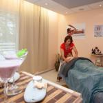different types of massages, body treatments, face treatments, hand and leg treatments