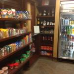 Hyatt House - convenience store in frot