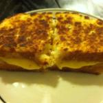 Gluten-free grilled cheese with ooey gooey cheese is a favorite around here!