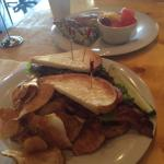 One of the BEST BLTs you will ever eat...with homemade chips