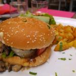 Le Burger au magret de canard