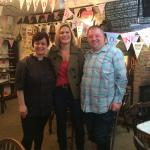 KATE BLISS off the telly at old stables tearooms