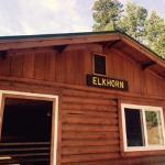 Elkhorn cabin at Hermit Park