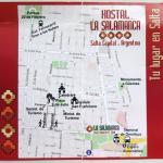 Hostal La Salamanca mapa