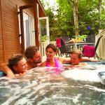 Hot tub lodges available