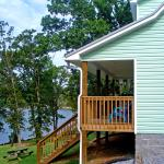 Our lakefront cottages have a wonderful view of Buckhorn Bay!