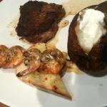 Ridiculous. Ordered medium filet medium & it was burnt. Baked potato burnt.