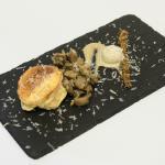 Tortino al fatulì Presidio Slow food con funghi porcini
