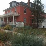 Historic hotel in Stevensville Montana