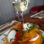 Caprese salad at the Sideboard