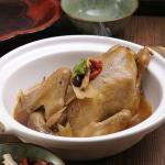 Briased Mini Chicken With Chinese Herbs In Claypot