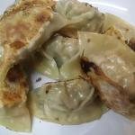 potstickers or gyoza in Japanese