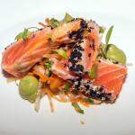 Seared Sesame Salmon