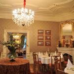 Restaurant mit Kamin